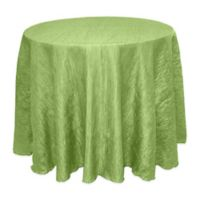 Delano 90-Inch Round Tablecloth in Apple