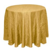 Delano 90-Inch Round Tablecloth in Harvest Gold