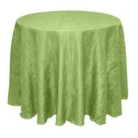 Delano 108-Inch Round Tablecloth in Apple
