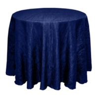 Delano 108-Inch Round Tablecloth in Royal Blue