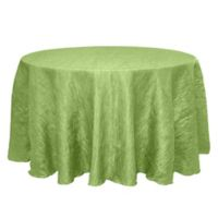 Delano 120-Inch Round Tablecloth in Apple Green