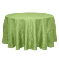 Delano 132-Inch Round Tablecloth in Apple Green