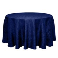 Delano 132-Inch Round Tablecloth in Royal Blue