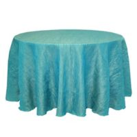 Delano 132-Inch Round Tablecloth in Turquoise