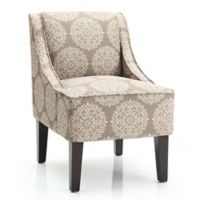 Dwell Home Marlow Accent Chair with Gabrielle Upholstery in Stone