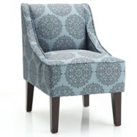 Dwell Home Marlow Accent Chair with Gabrielle Upholstery in Teal