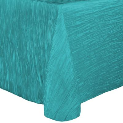 Superieur Delano 50 Inch X 120 Inch Oblong Tablecloth In Turquoise