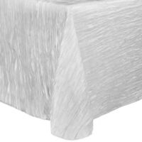 Delano 90-Inch x 156-Inch Oblong Tablecloth with Rounded Corners in Platinum