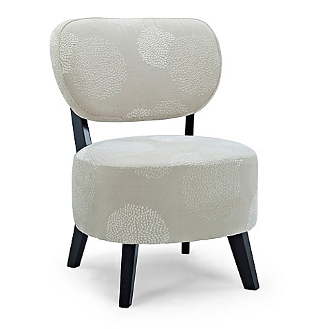 Buy Dwell Home Sphere Accent Chair in Ivory Sunflower from