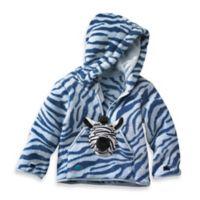 HoOdiePet™ Size 3-4T Zolie the Zebra Hoodie in Blue
