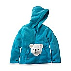 HoOdiePet™ Size 3 - 4T Arkie the Polar Bear Hoodie in Turquoise