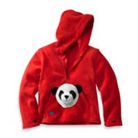 HoOdiePet™ Size 3 - 4T Bambooie the Panda Hoodie in Red