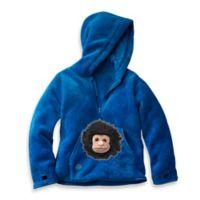 HoOdiePet™ Size 3 - 4T Screamie the Ape Hoodie in Blue