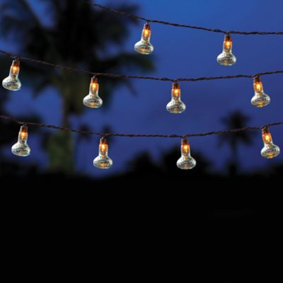 Outdoor 10 Bulb String Lights In Clear