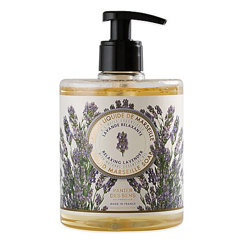 panier des sens 16 9 oz marseille lavender liquid soap bed bath beyond. Black Bedroom Furniture Sets. Home Design Ideas