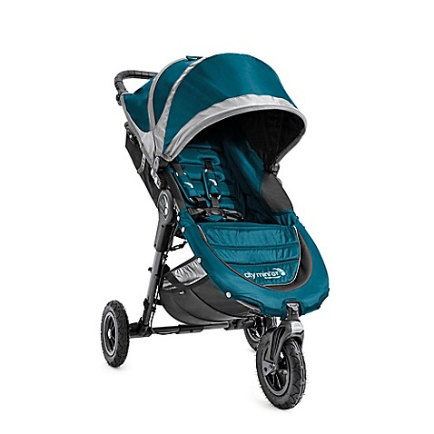 Baby Jogger 174 City Mini 174 Gt Single Stroller In Teal Grey