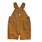 Carhartt® Size 9M Canvas Bib Shortall in Brown