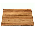 ARB Teak & Specialties 25-Inch x 18-Inch Teak Wood Shower Mat