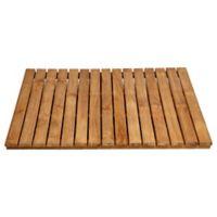 ARB Teak & Specialties 30-Inch x 30-Inch Teak Wood Shower Mat