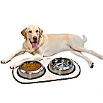 The Original™ Taupe Pet Bowl Mat in Extra Large