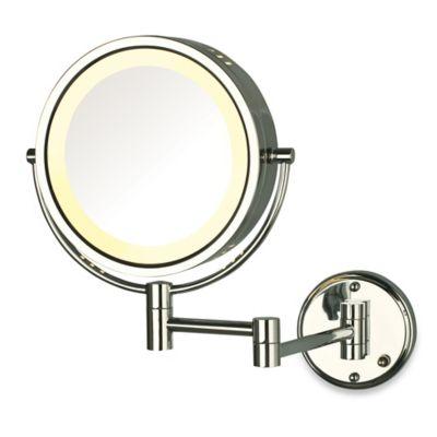 Buy Jerdon Wall Mount 8x 1x Magnifying Swivel Mirror In