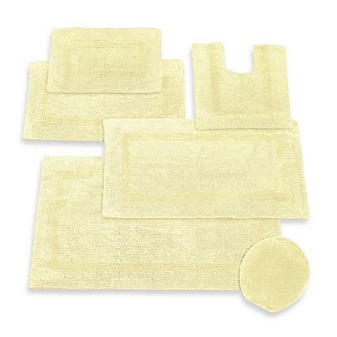Buy Wamsutta Reversible Contour Bath Rug In Yellow From Bed Bath Beyond