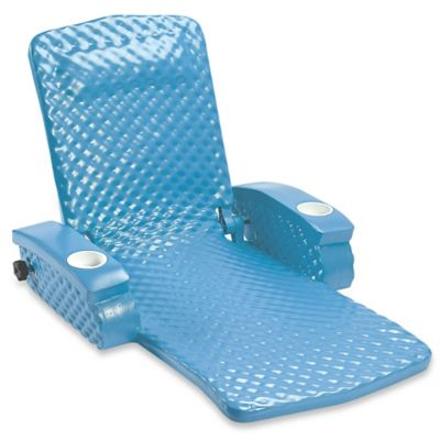 Super Soft® Adjustable Pool Recliner in Marina Blue  sc 1 st  Bed Bath u0026 Beyond & Buy Pool Recliners from Bed Bath u0026 Beyond islam-shia.org