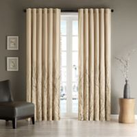 Andora 84-Inch Window Curtain Panel in Tan