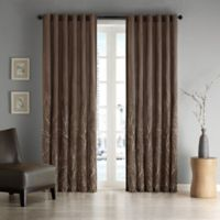 Andora 84-Inch Window Curtain Panel in Chocolate