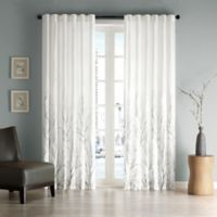 Andora 84-Inch Window Curtain Panel in White