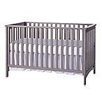 Child Craft™ London 3-in-1 Euro Style Convertible Crib in Grey