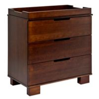 Babyletto Modo 3-Drawer Changer Dresser in Espresso
