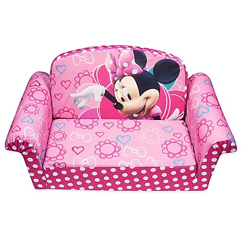 Spin Master™ Marshmallow Disney® Minnieu0027s Bow Tique Flip Open Sofa