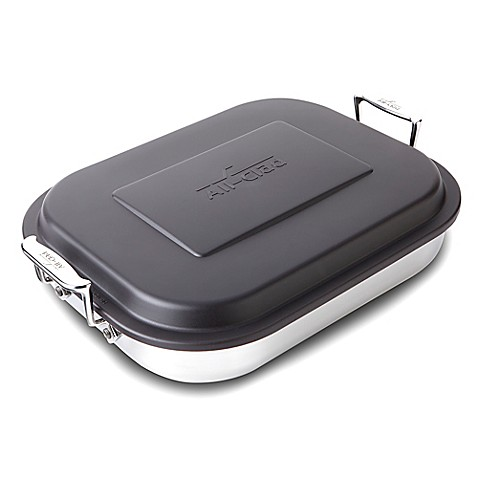All Clad Stainless Steel Covered Lasagna Pan Bed Bath