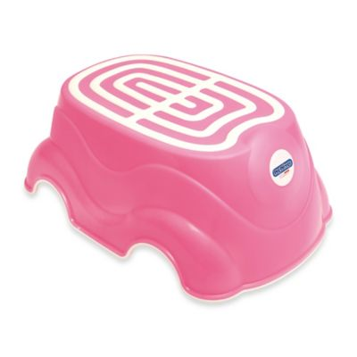 peg perego step stool in pink