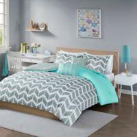 Buy Teal And Grey Comforter Bed Bath Beyond