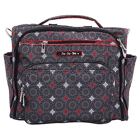 ju ju be b f f diaper bag in magic merlot buybuy baby. Black Bedroom Furniture Sets. Home Design Ideas