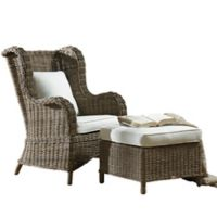 Panama Jack Exuma 2-Piece Occasional Chair Set in Grey