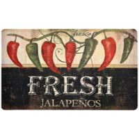 Fashion Comfort 18-Inch x 30-Inch Jalapeno Kitchen Foam Mat