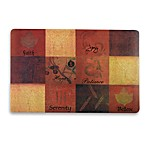 Avanti Patchwork Words Laminated Placemat