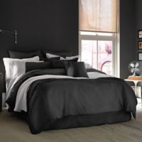 Kenneth Cole Reaction Home Mineral Twin Bed Skirt in Dusty Black