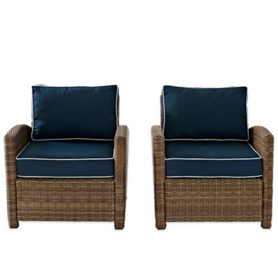 buy wicker outdoor chairs from bed bath beyond