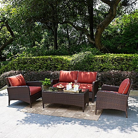 Crosley Kiawah Patio Furniture Collection Bed Bath Amp Beyond