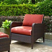 Crosley Kiawah Wicker Arm Chair