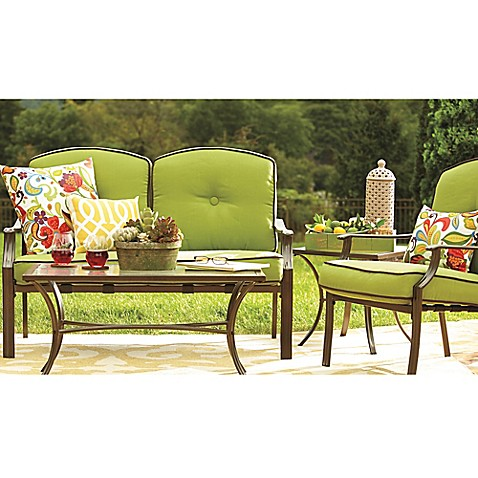 Hawthorne Patio Furniture Collection Bed Bath Beyond - Bed bath and beyond outdoor furniture