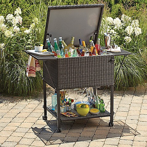 brushed wicker patio furniture collection - Bed Bath And Beyond Patio Furniture