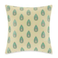 Echo Design™ Guinevere Square Throw Pillow in French Vanilla