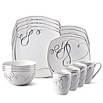 Mikasa® Love Story 16-Piece Dinnerware Set