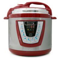Pressure Pro 6-Quart Electric Pressure Cooker in Red
