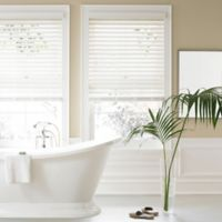 Real Simple® 2.5-Inch Faux Wood 71-Inch x 72-Inch Blind in White